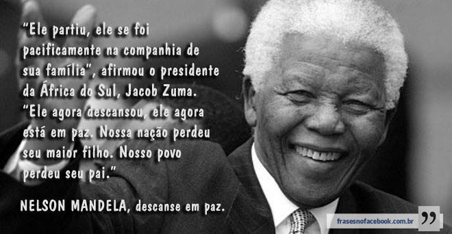 Frases De Nelson Mandela Dicas De Musculação