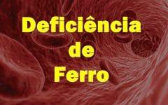 Os 18 Sintomas de Deficiência de Ferrono Organismo