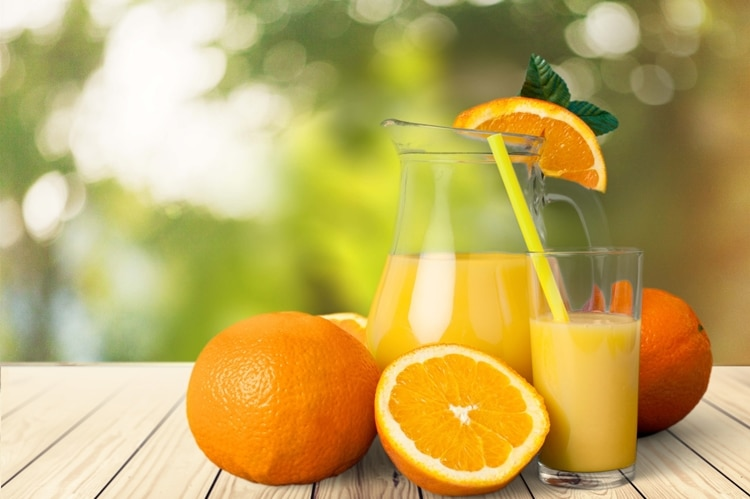 Benefícios da Vitamina de Laranja