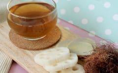 Os 10 Benefíciosdo Chá da Raiz de Lótus Para Saúde