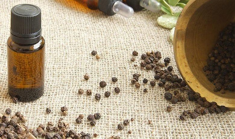 Beneficios do oleo da Pimenta Preta