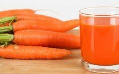 Os 10 Benefícios do Suco de Cenoura Para Saúde
