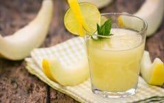 Os 16 Benefícios do Suco de Melão Para Saúde