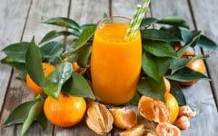 Os 18 Benefícios do Suco de Mexerica Para Saúde