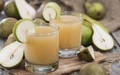 Os 10 Benefícios do Suco de Pera Para Saúde