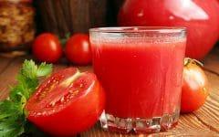 Os 10 Benefícios do Suco de Tomate Para Saúde