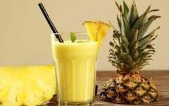 Os 12 Benefícios da Vitamina de Abacaxi Para Saúde