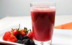 Os 10 Benefícios da Vitamina de Amora Para Saúde