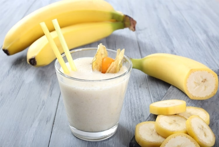 Benefícios da Vitamina de Banana