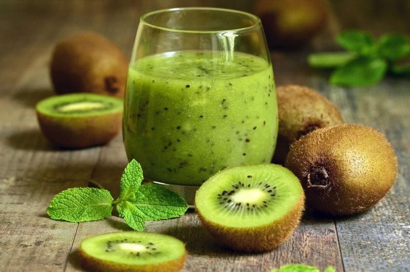Benefícios da Vitamina de Kiwi