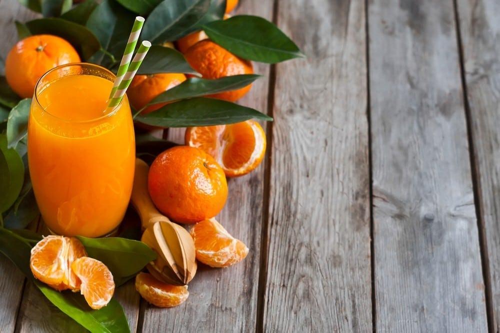 Benefícios da Vitamina de Mexerica