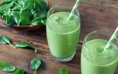 Suco de Espinafre Para Eliminar a Gordura da Barriga