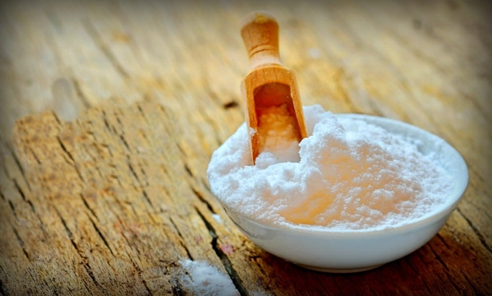 bicarbonato de sódio para pele