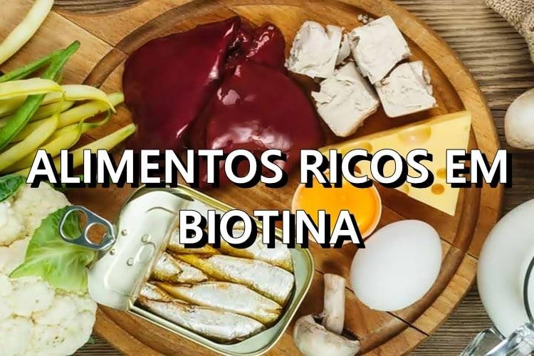 Alimentos Ricos em Biotina