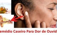 Os 11 Remédios Caseiros Para Desobstruir Ouvido Entupido