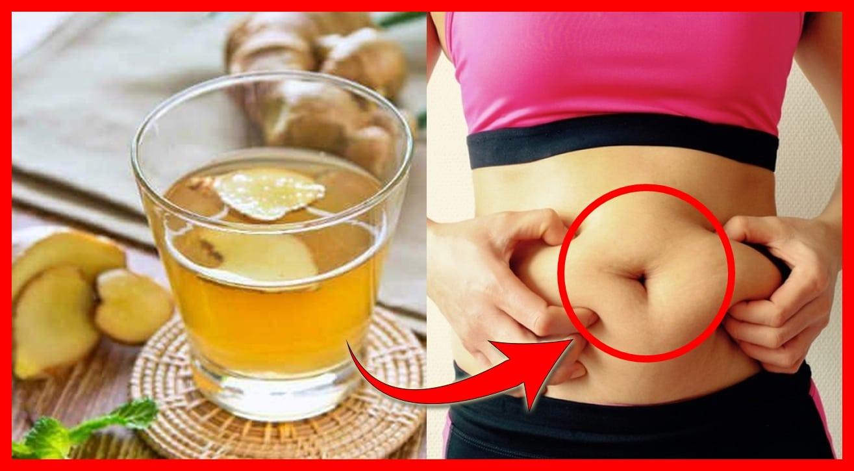 agua de gengibre para perder peso