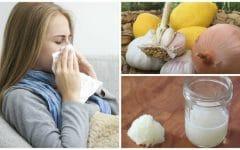 As 10 Receitas Caseiras Para Tratar Gripe e Resfriado