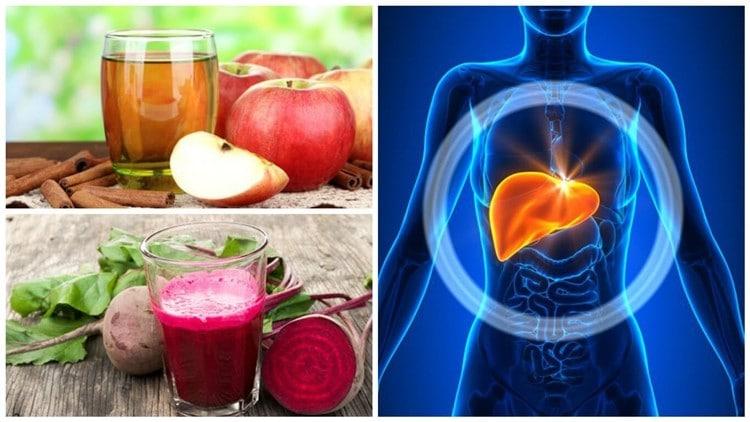 Bebidas Naturais Para Desintoxicar o Fígado