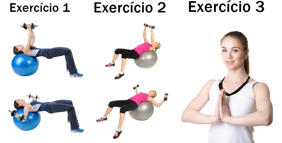 Exercícios Para Aumentar os Seios