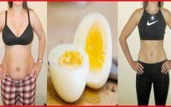 Dieta do Ovo Cozido – Você Pode Perder até 10 kg em Apenas 2 Semanas