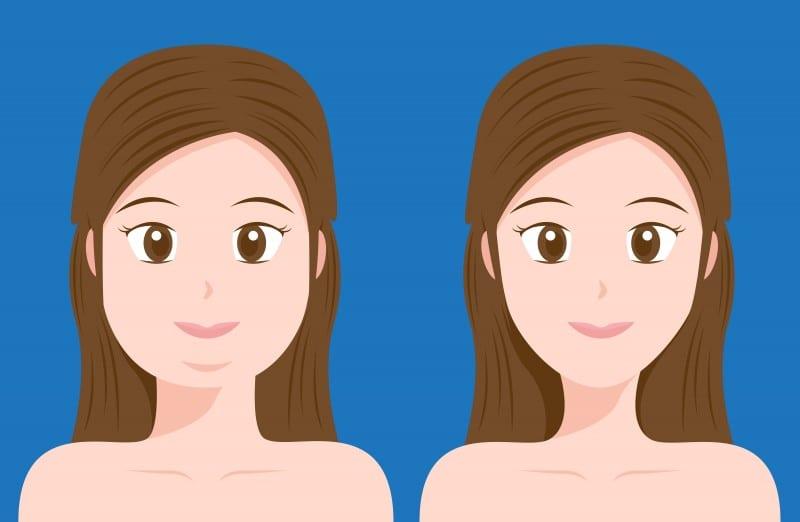emagrecer o rosto de forma natural