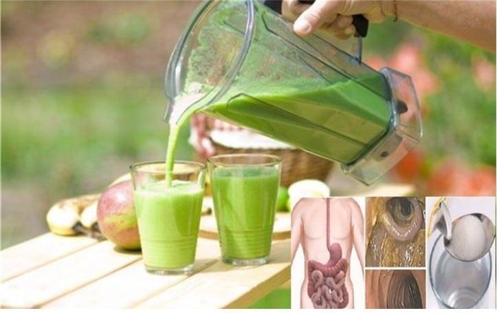 bebida para fígado, colon e rim