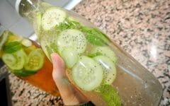 Perca 2 kg em 3 Dias Bebendo Limonada com Pepino!