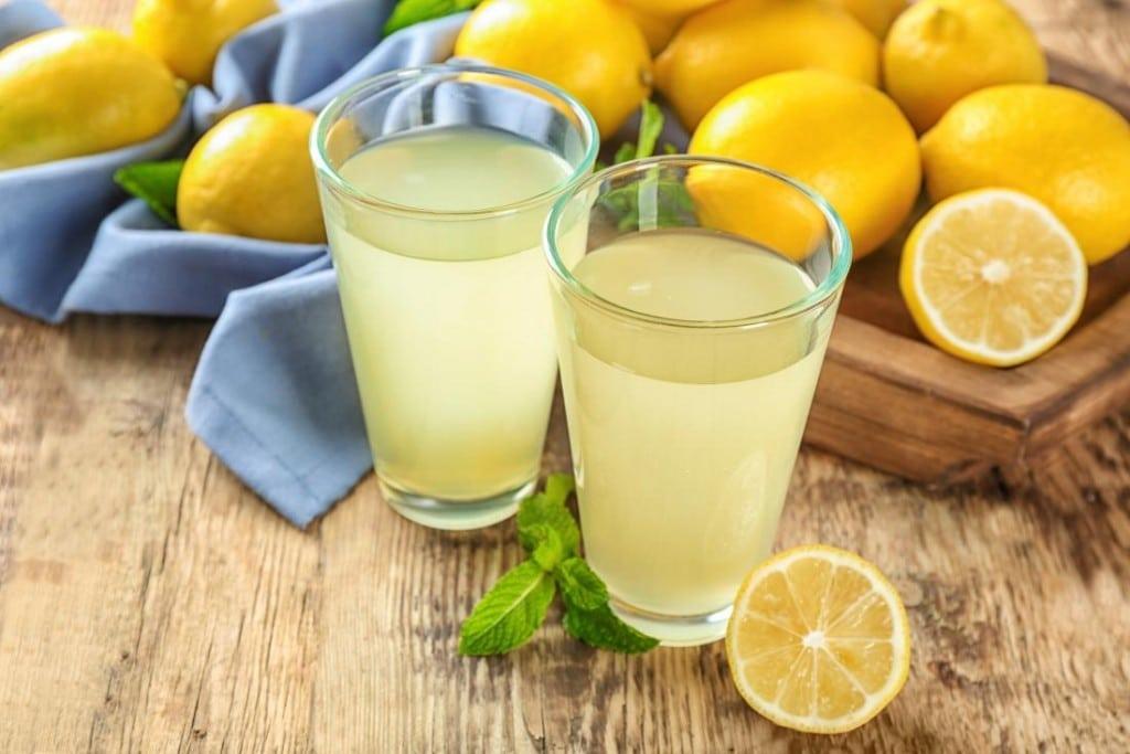 Suco de Limão para combater a gripe